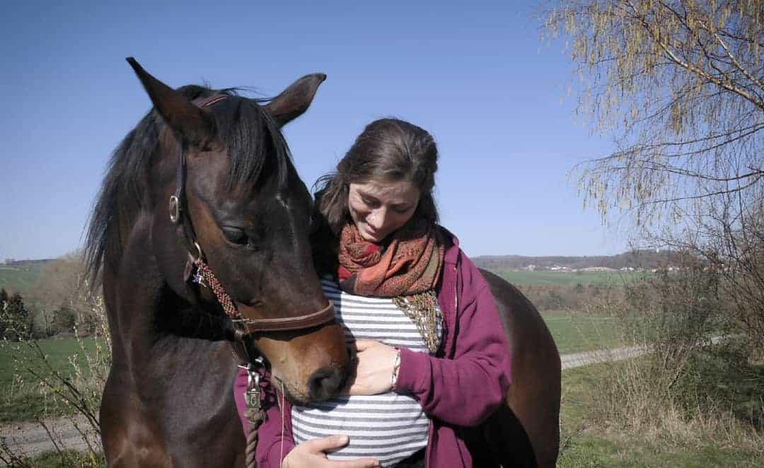 6 ways to stay involved in Horse riding when pregnant