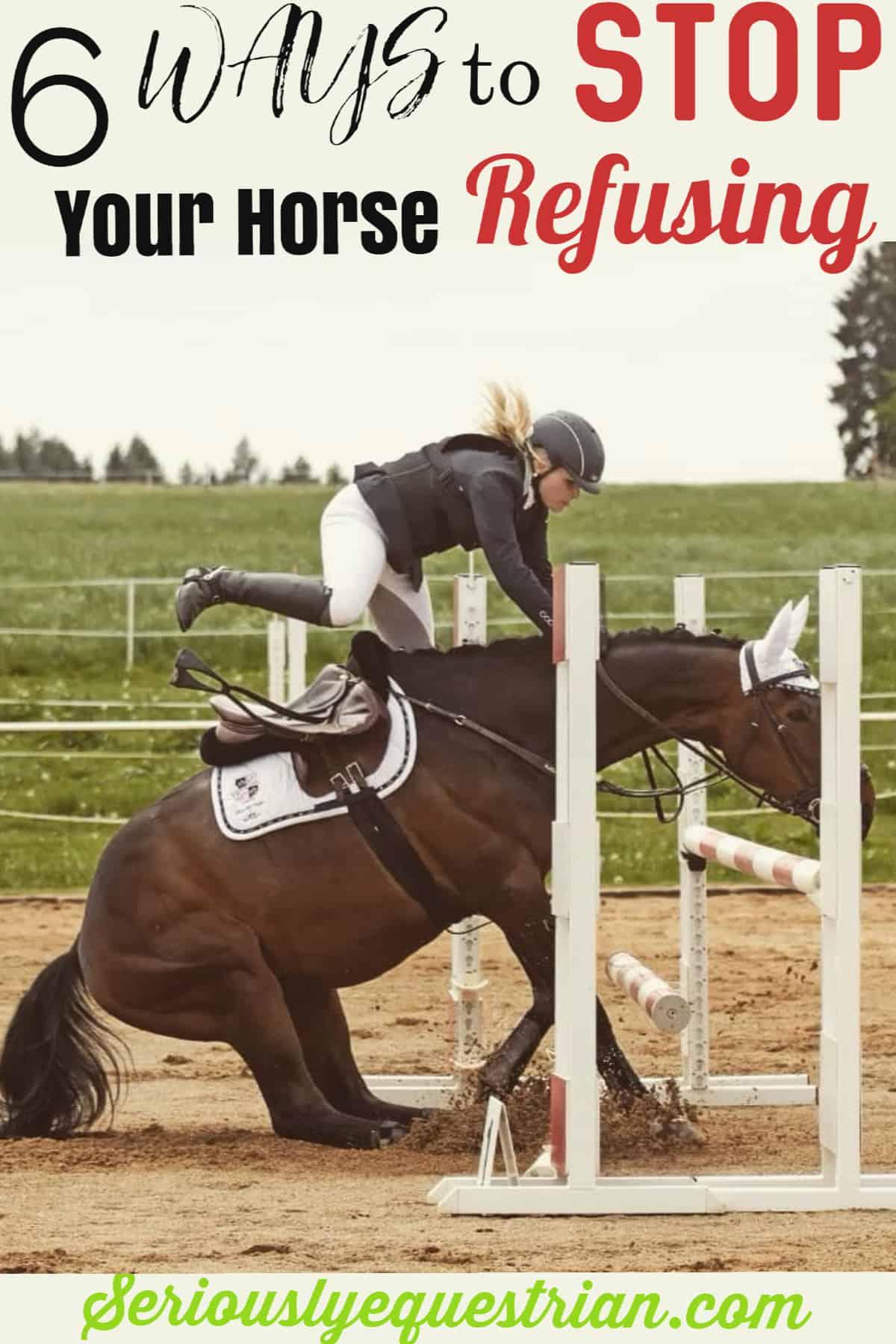Horse refusal