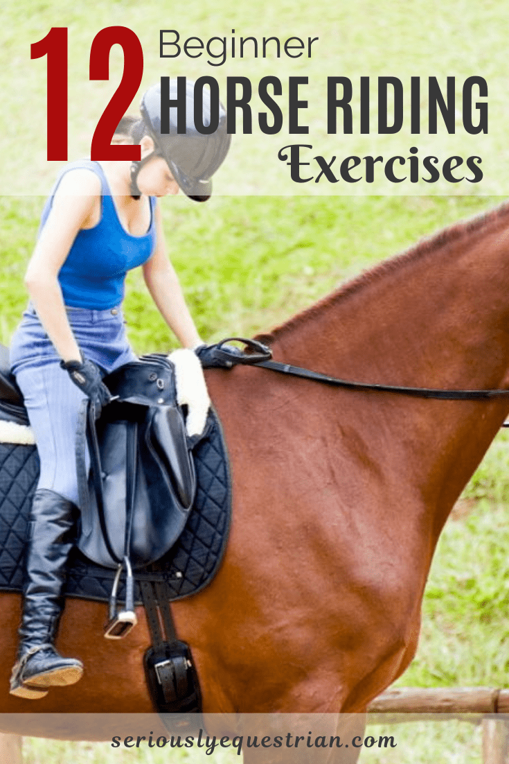 12 Beginner Horse Riding Exercises Seriously Equestrian