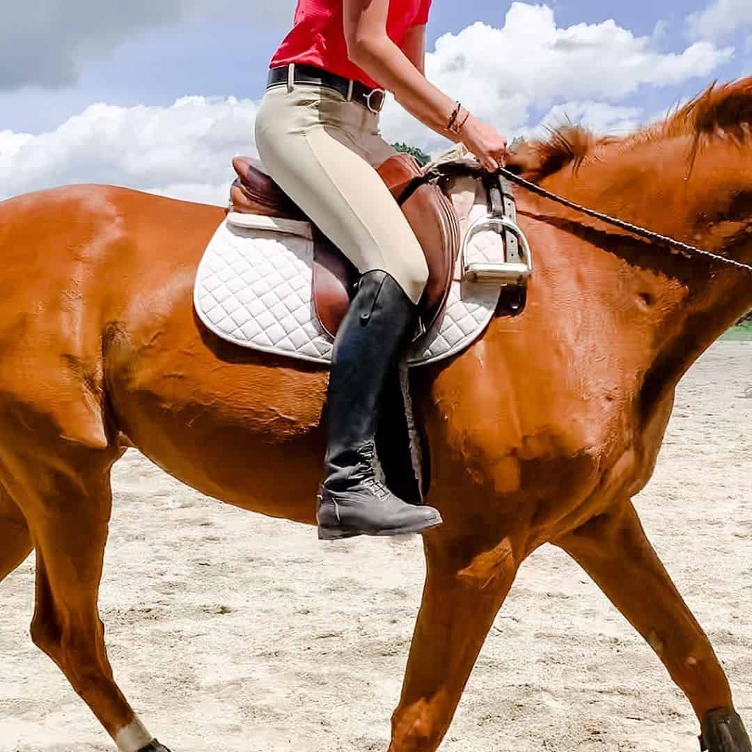 17 tips to improve your riding without Stirrups